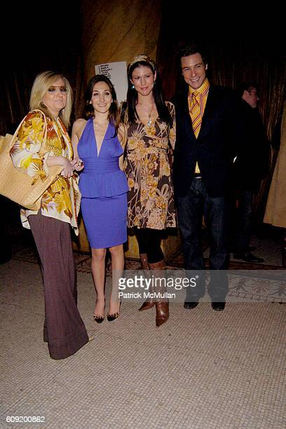 Nicole Romano and Rocco DiSpirito attend NICOLE ROMANO FallWinter 2007 Collection at Capitale NYC on February 4 2007