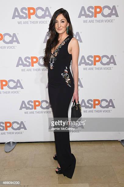 Nicole Romano attends ASPCA'S 18th Annual Bergh Ball honoring Edie Falco and Hilary Swank at The Plaza Hotel on April 9 2015 in New York City