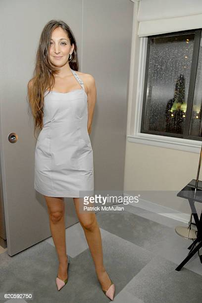Nicole Romano attends ELETTRA WIEDEMANN and JAMES MARSHALL launch JustOneFrickinDaycom At the Newly Imagined MORGANS HOTEL at Morgans Hotel Penthouse...