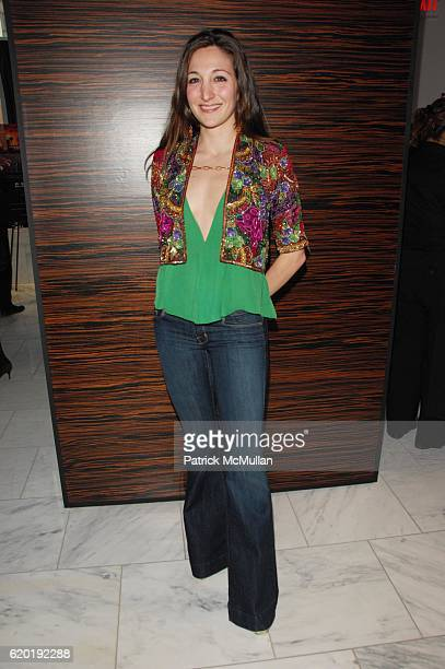 Nicole Romano attends ESPACE official grand opening at ESPACE NYC on April 8 2008 in New York City