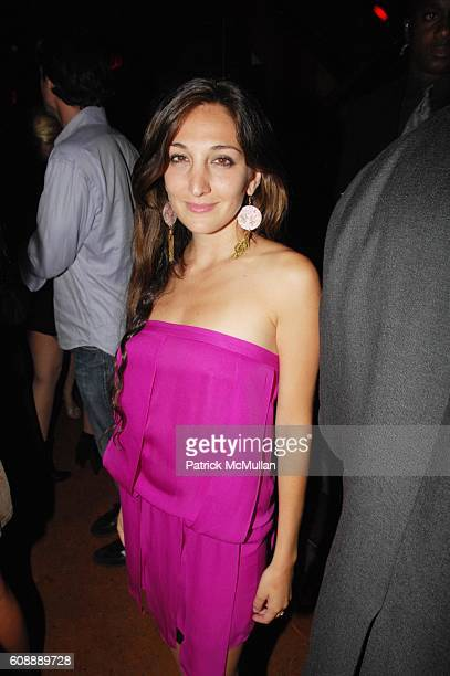 Nicole Romano attends Noah Tepperberg birthday party at Marquee NYC on August 16 2007