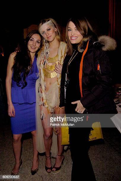 Nicole Romano Mel Rose and Kimberly Guilfoyle attend NICOLE ROMANO FallWinter 2007 Collection at Capitale NYC on February 4 2007