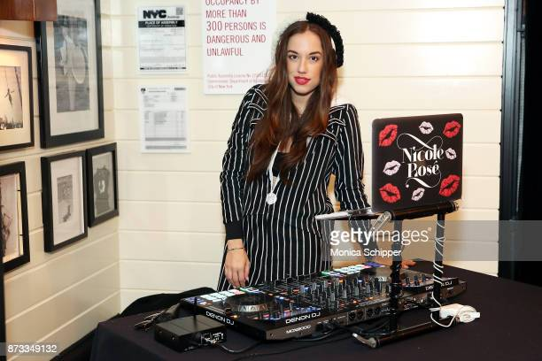 Nicole Rose spins during #SleepInSunday with Ben Soffer of @BoyWithNoJob on November 12 2017 in New York City
