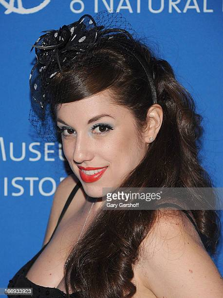Nicole Rose Stillings attends the 2013 American Museum Of Natural History Museum Dance on April 18 2013 in New York City