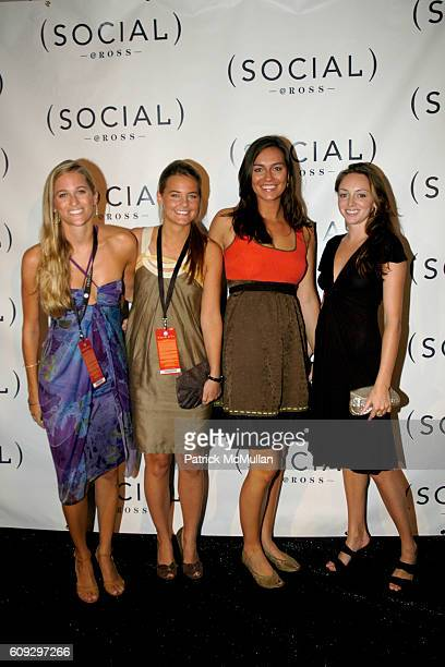 Nicole Ross, Matilda Holst, Brooke Gleason and Emaleah Shackleton attend HAMPTON SOCIAL At Ross With A Performance By DAVE MATTHEWS & TIM REYNOLDS at...