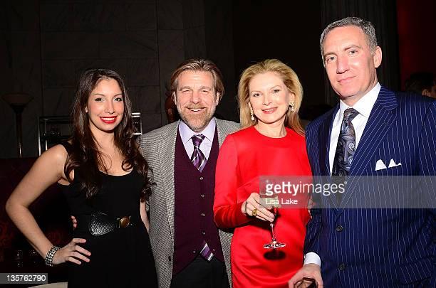 Nicole Rossi Howard Eskin Mark Schneider Krista Bard attend thePhiladelphia Style Magazine cover event hosted by Melania Trump at Ritz Carlton Hotel...