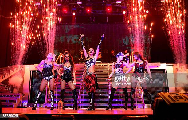 Nicole Scherzineger of the Pussycat Dolls performs on stage at the Acer Arena on on May 22 2009 in Sydney Australia