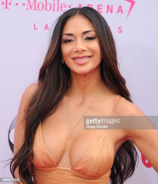 Nicole Scherzinger arrives at the 2017 Billboard Music Awards at TMobile Arena on May 21 2017 in Las Vegas Nevada
