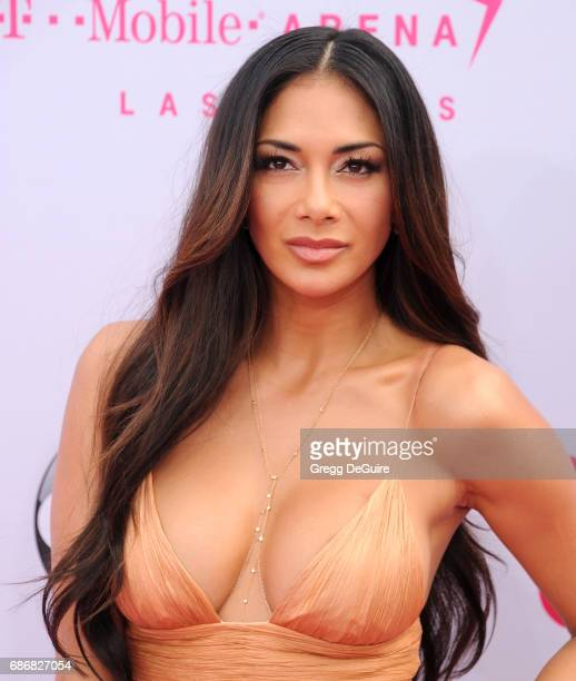 Nicole Scherzinger arrives at the 2017 Billboard Music Awards at T-Mobile Arena on May 21, 2017 in Las Vegas, Nevada.