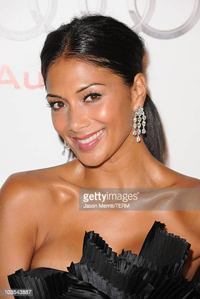 Nicole Scherzinger arrives at the Audi/Chopard EMMY week red carpet style kickoff party held at Cecconi's Restaurant on August 22 2010 in Los Angeles...