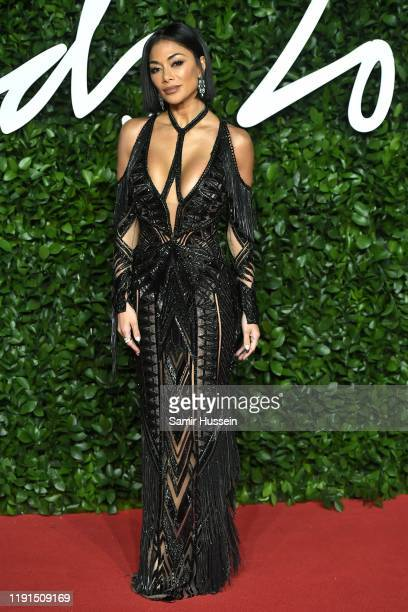 Nicole Scherzinger arrives at The Fashion Awards 2019 held at Royal Albert Hall on December 02 2019 in London England