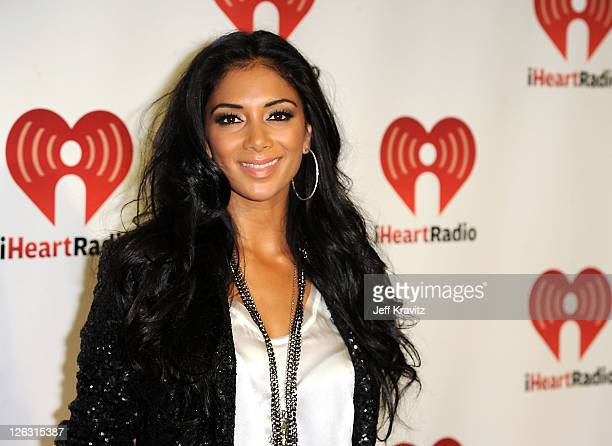 Nicole Scherzinger arrives at the iHeartRadio Music Festival held at the MGM Grand Garden Arena on September 24, 2011 in Las Vegas, Nevada.