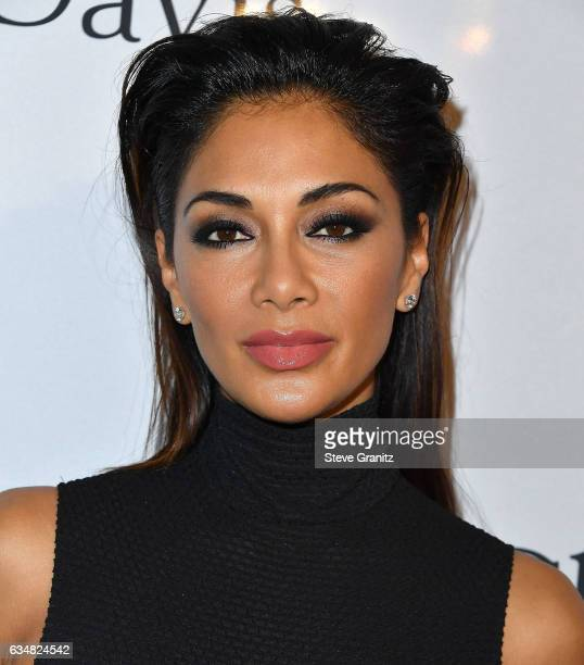 Nicole Scherzinger arrives at the PreGRAMMY Gala and Salute to Industry Icons Honoring Debra Lee on February 11 2017 in Los Angeles California