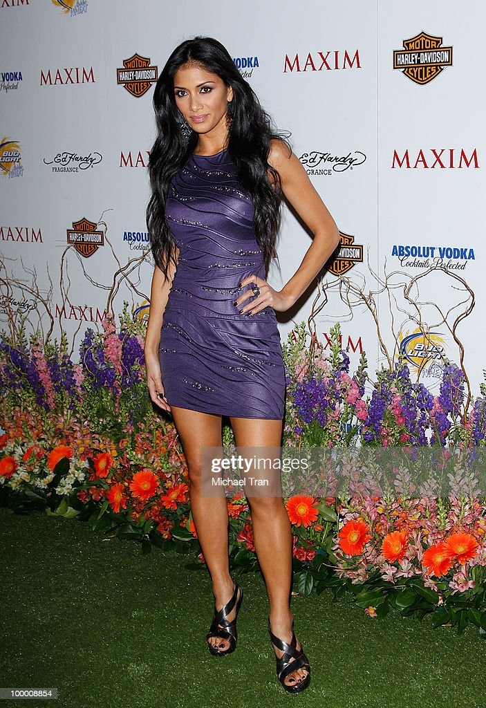 Nicole Scherzinger arrives for the 11th Annual MAXIM HOT 100 Party held at Paramount Studios on May 19, 2010 in Los Angeles, California.