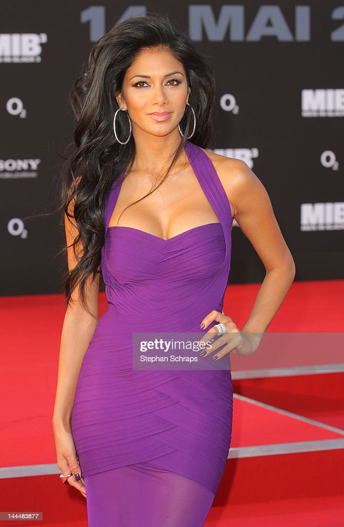 Nicole Scherzinger arrives for the 'Men In Black 3' Germany Premiere at O2 World, Muehlenstrasse, on May 14, 2012 in Berlin, Germany.