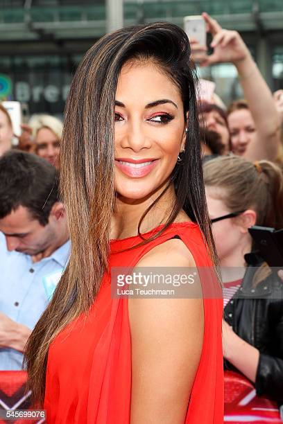 Nicole Scherzinger arrives for X Factor auditions at Wembley Arena on July 9 2016 in London England