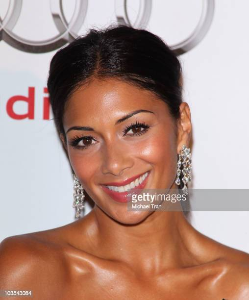 Nicole Scherzinger arrives to the Audi/Chopard EMMY week red carpet style kick-off party held at Cecconi's Restaurant on August 22, 2010 in Los...