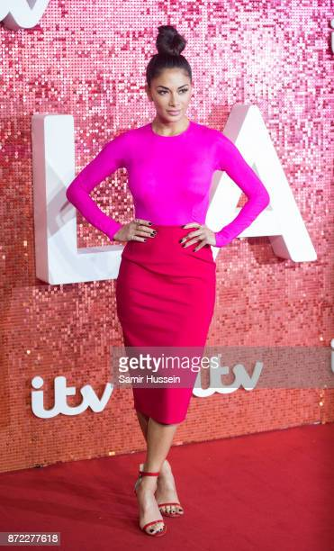 Nicole Scherzinger arriving at the ITV Gala held at the London Palladium on November 9 2017 in London England