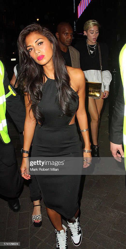 Nicole Scherzinger at Cirque le Soir on July 20, 2013 in London, England.