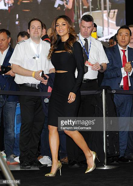 Nicole Scherzinger at the London Boat Show at ExCel on January 9 2015 in London England