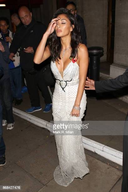 Nicole Scherzinger attending the Pride of Britain Awards on October 30 2017 in London England