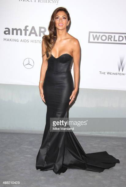 Nicole Scherzinger attends amfAR's 21st Cinema Against AIDS Gala Presented By WORLDVIEW BOLD FILMS And BVLGARI at the 67th Annual Cannes Film...