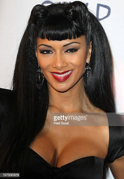 Nicole Scherzinger attends day one of 'Jingle Bell Ball' at O2 Arena on December 4 2010 in London England