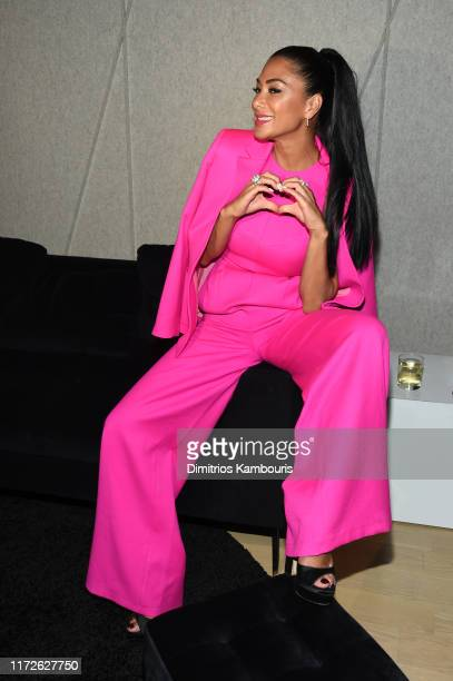 Nicole Scherzinger attends ELLE Women in Music presented by Spotify and hosted by Nina Garcia Jameela Jamil E Entertainment on September 05 2019 in...