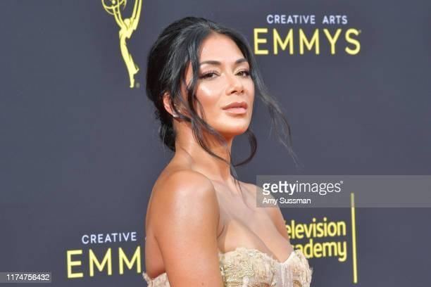Nicole Scherzinger attends the 2019 Creative Arts Emmy Awards on September 14 2019 in Los Angeles California