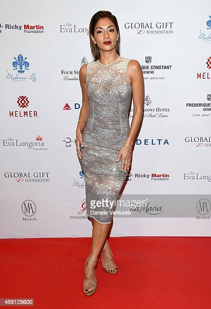 Nicole Scherzinger attends the 5th Global Gift Gala hosted by honorary chair Eva Longoria at the Four Seasons Hotel on November 17 2014 in London...
