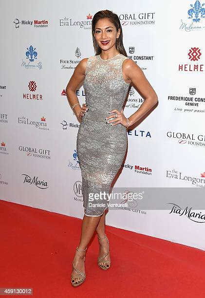 Nicole Scherzinger attends the 5th Global Gift Gala hosted by honorary chair Eva Longoria at the Four Seasons Hotel on November 17, 2014 in London,...