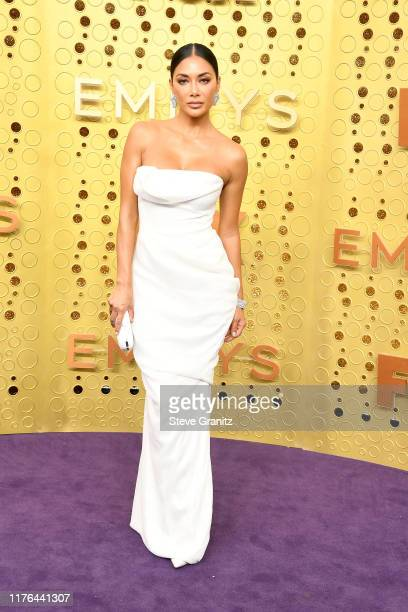 Nicole Scherzinger attends the 71st Emmy Awards at Microsoft Theater on September 22, 2019 in Los Angeles, California.