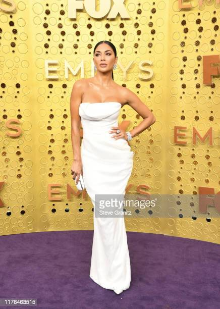 Nicole Scherzinger attends the 71st Emmy Awards at Microsoft Theater on September 22 2019 in Los Angeles California