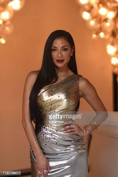 Nicole Scherzinger attends the amfAR Gala Hong Kong 2019 at the Rosewood Hong Kong on March 25 2019 in Hong Kong Hong Kong
