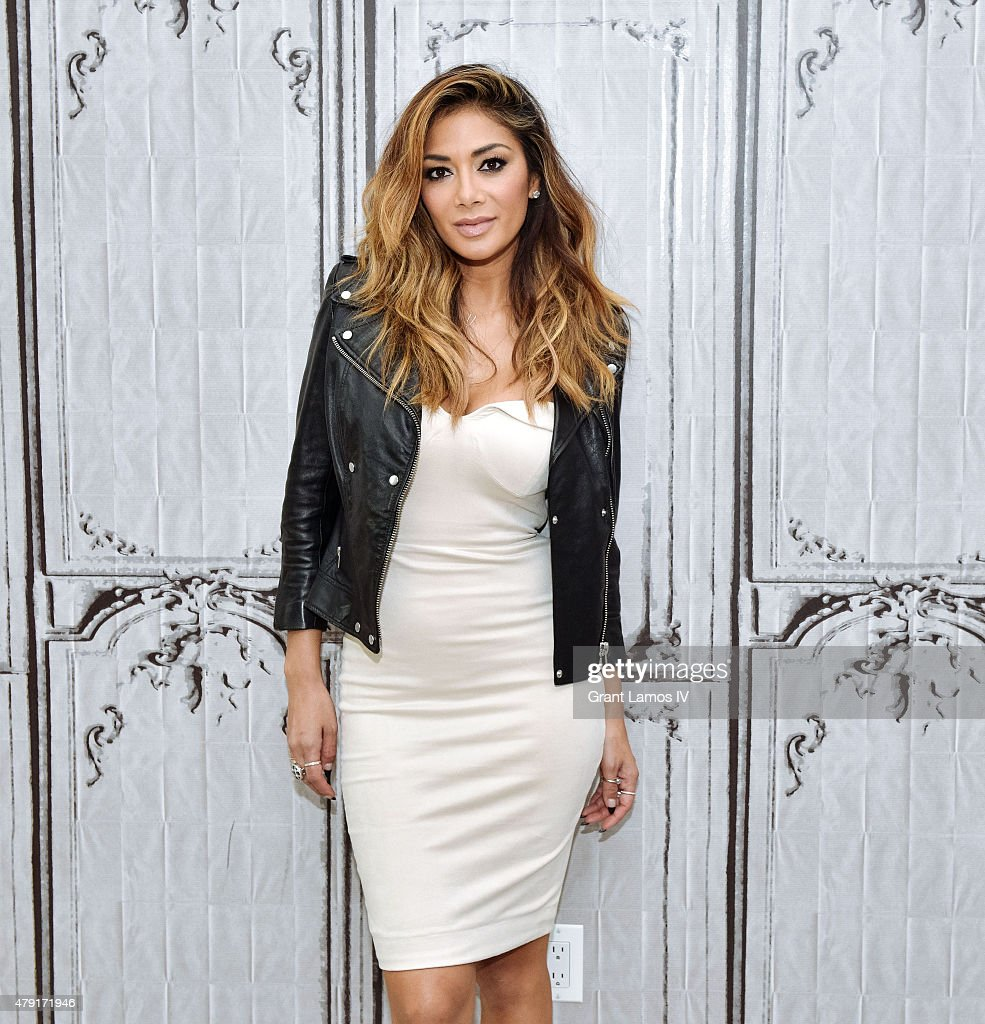 Nicole Scherzinger attends the AOL BUILD Speaker Series Presents: NBC's 'I Can Do That' at AOL Studios In New York on July 1, 2015 in New York City.
