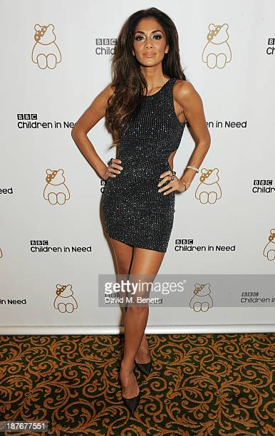 Nicole Scherzinger attends the BBC Children in Need Gala hosted by Gary Barlow at The Grosvenor House Hotel on November 11 2013 in London England