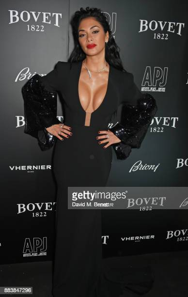 Nicole Scherzinger attends the BOVET 1822 Brilliant is Beautiful Gala benefitting Artists for Peace and Justice's Global Education Fund for Women and...