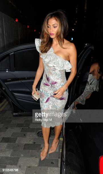 Nicole Scherzinger attends the British Fashion Awards 2014 afterparty at Hotel Cafe Royal on December 12 2014 in London England