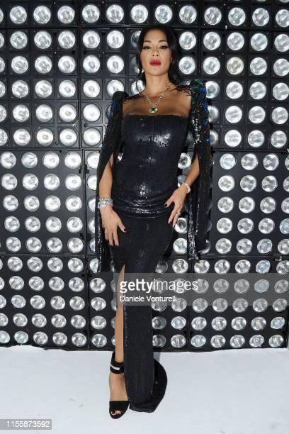 Nicole Scherzinger attends the Bvlgari Hight Jewelry Exhibition on June 13 2019 in Capri Italy