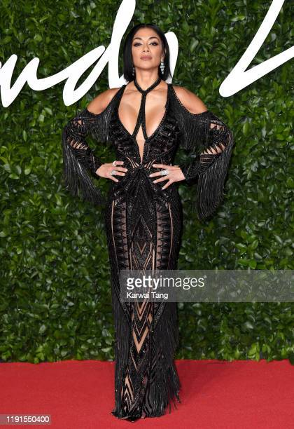 Nicole Scherzinger attends The Fashion Awards 2019 at the Royal Albert Hall on December 02 2019 in London England
