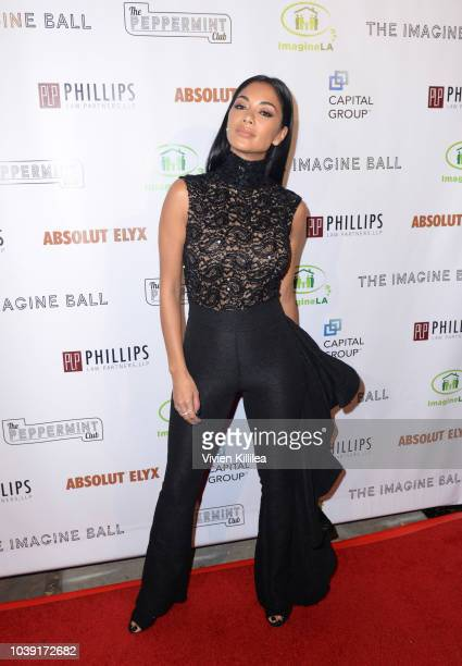 Nicole Scherzinger attends The Imagine Ball Honoring Serena Williams Benefitting Imagine LA Presented By John Terzian Val Vogt on September 23 2018...