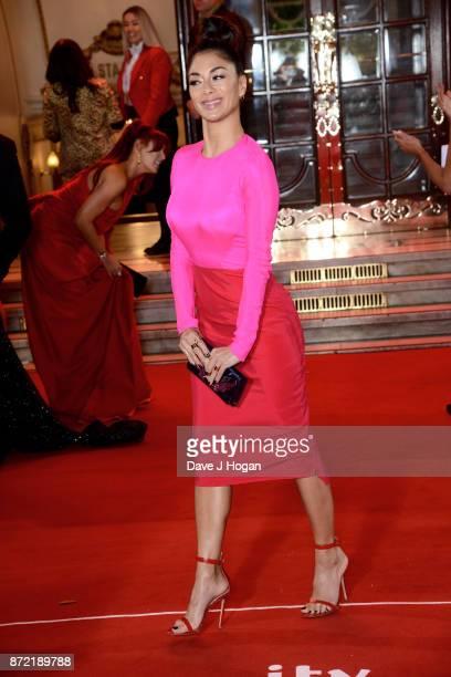 Nicole Scherzinger attends the ITV Gala held at the London Palladium on November 9 2017 in London England