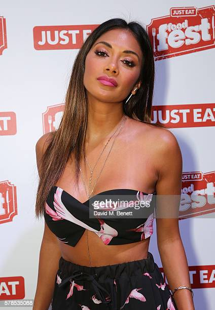 Nicole Scherzinger attends the Just Eat Food Fest where food fans enjoy dishes from all over the world on July 21 2016 in London England