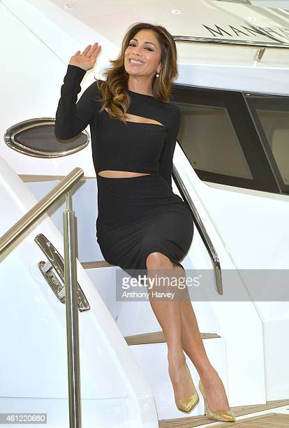 Nicole Scherzinger attends the London Boat Show at ExCel on January 9 2015 in London England