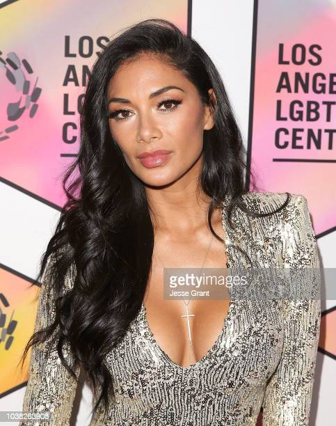 Nicole Scherzinger attends the Los Angeles LGBT Center's 49th Anniversary Gala Vanguard Awards at The Beverly Hilton Hotel on September 22, 2018 in...
