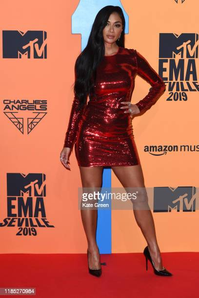 Nicole Scherzinger attends the MTV EMAs 2019 at FIBES Conference and Exhibition Centre on November 03, 2019 in Seville, Spain.