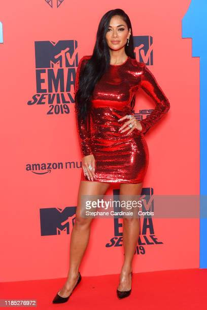 Nicole Scherzinger attends the MTV EMAs 2019 at FIBES Conference and Exhibition Centre on November 03 2019 in Seville Spain