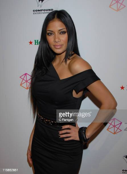 Nicole Scherzinger attends the NEYO Compound Entertainment PreGrammy Party on February 9 2008 in Hollywood California