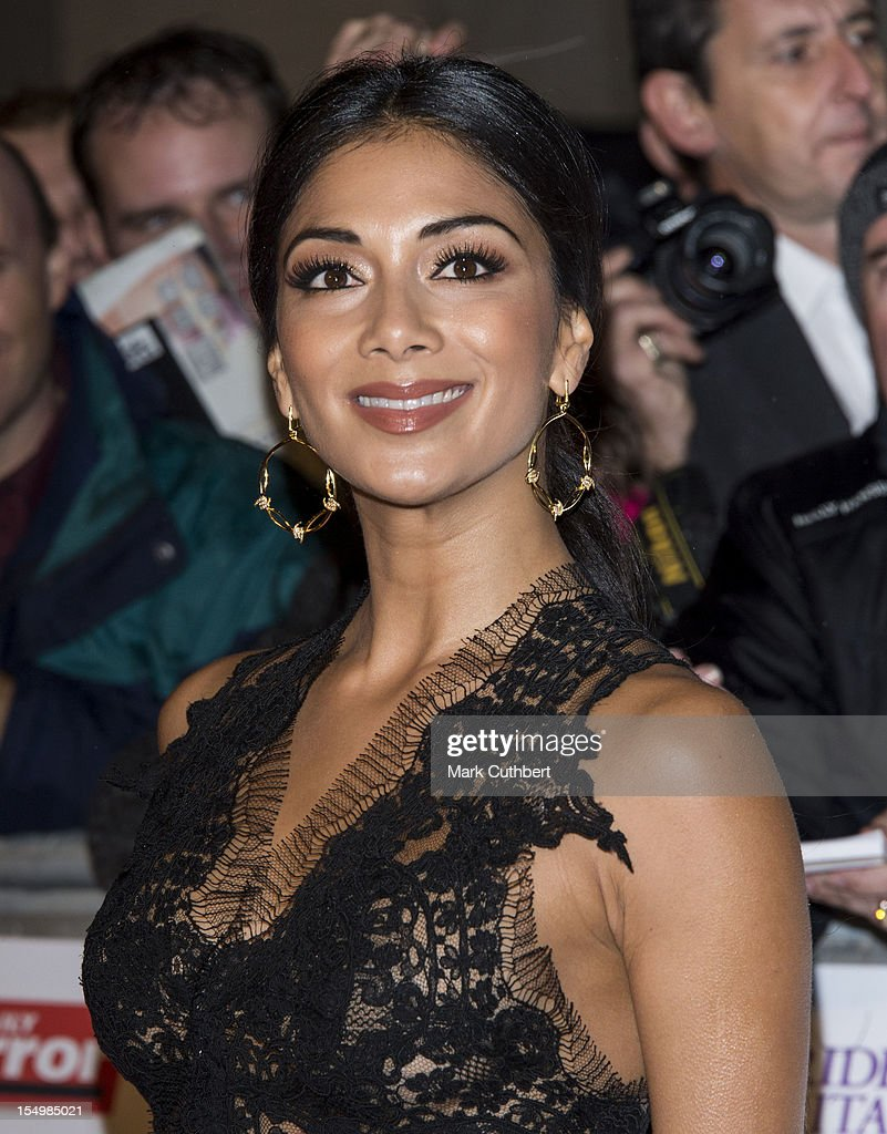 Nicole Scherzinger attends the Pride Of Britain awards at Grosvenor House, on October 29, 2012 in London, England.