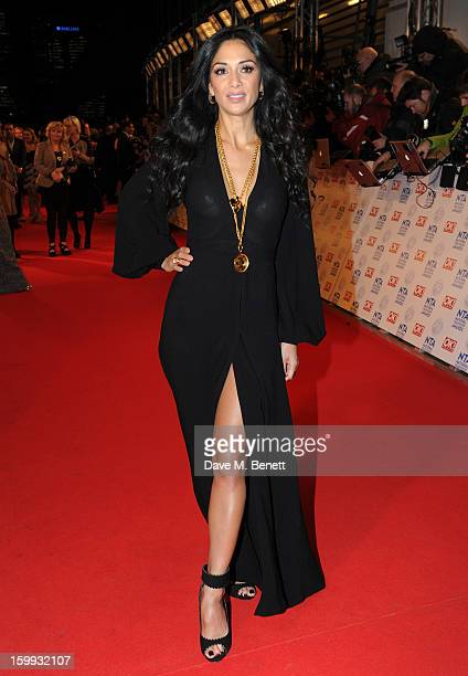 Nicole Scherzinger attends the the National Television Awards at 02 Arena on January 23 2013 in London England